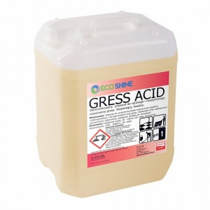 Gress Acid 10L - Koncentrat do mycia gresu po remontach